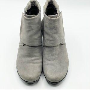 Dansko Nib Lucky Shoes Romy Slate Suede Boots